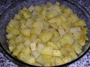 Patatas al vino blanco